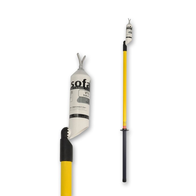 Sofamel VT-5/66-P, 5 to 66kV Voltage Detector with Operating Pole